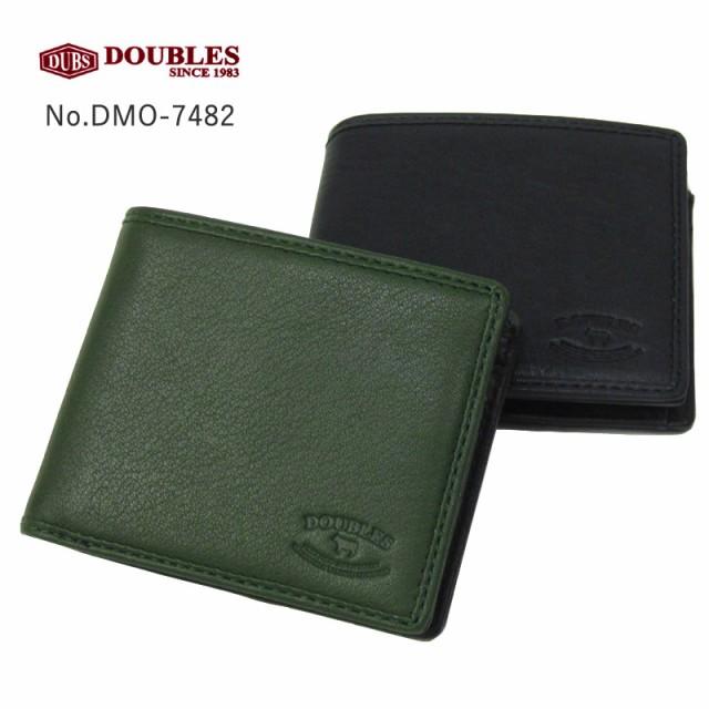 ダブルス DOUBLES 二つ折り財布 DMO-7482 本革 レ...
