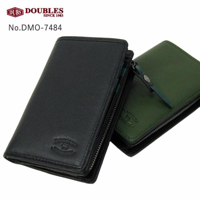 ダブルス DOUBLES 二つ折り財布 DMO-7484 本革 レ...