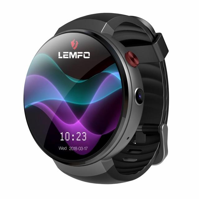 スマートウォッチ おしゃれ カメラ付き Android7 OS搭載 4G LTE Wifi 対応 LEMFO LEM7