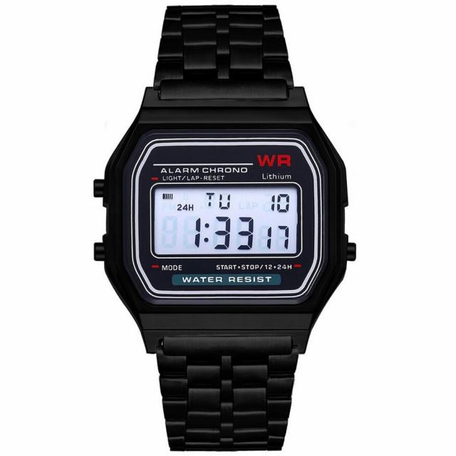 腕時計 ユニセックス LED デジタル 防水 クォーツ...