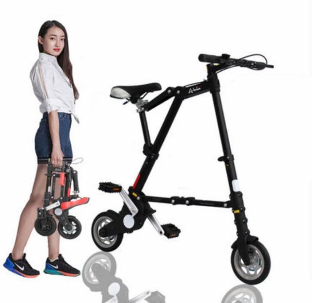 ミニ折りたたみ自転車 8インチ 10インチ 超コンパクト 超軽量 自転車車体