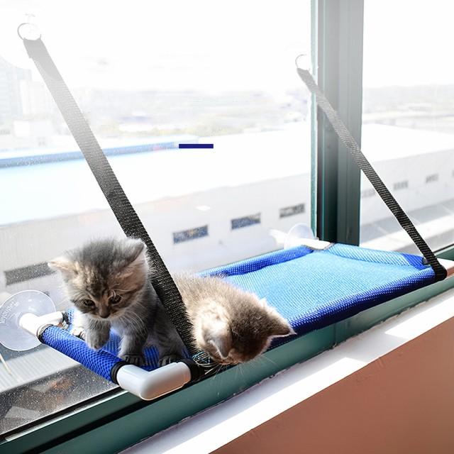 キャットハンモック 猫 窓際族 日向ぼっこ ベッド...