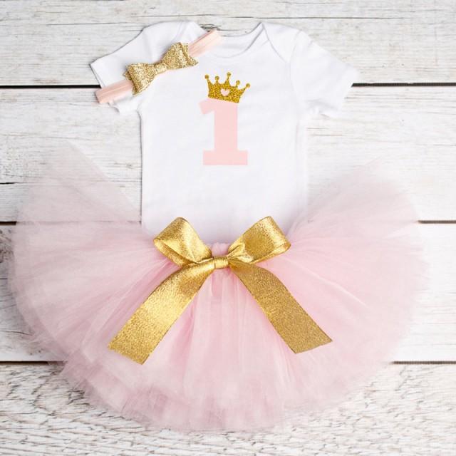 ベビードレス 女の子 1歳 誕生日服 王女 チュチュ...