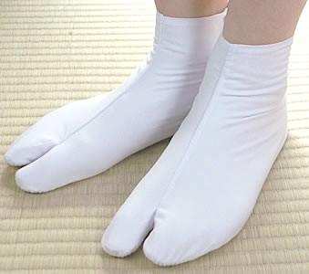 訳あり白足袋 綿 100% 服部和子 東洋紡 こはぜ 在...