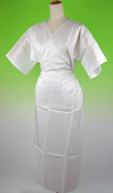 お家で洗える 正絹シルク100% 着物用 スリップワ...