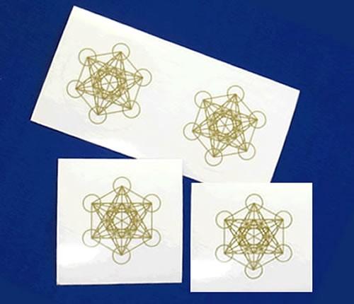 Bタイプシール神聖幾何学図形メタトロンキューブ3...