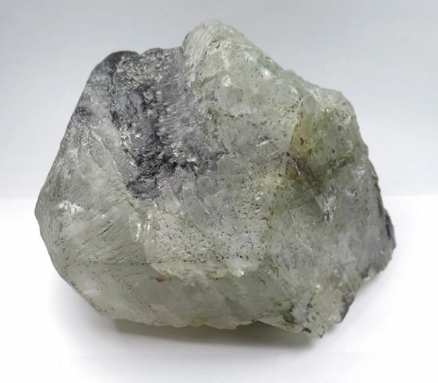 ブラジル産フェナカイト原石1.8kg「宝冠」壮麗で...