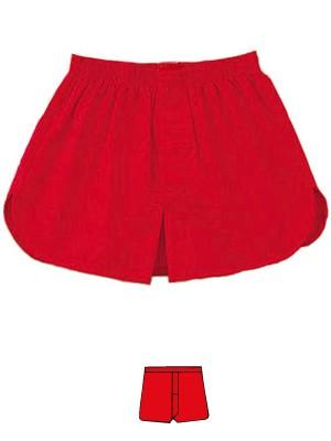 赤い下着 メンズ前開きトランクス  赤パンツ 赤の...