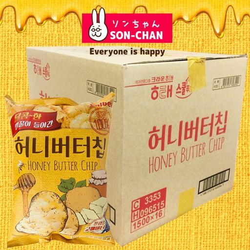 ハニーバターチップ新ヘテ韓国ポテトスナックチッ...