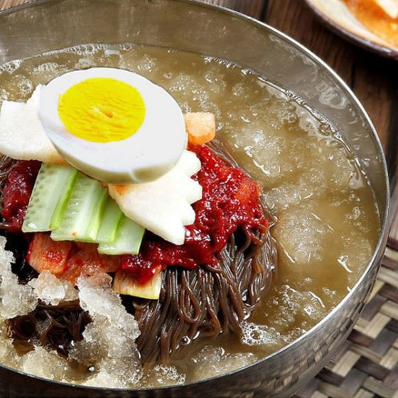 清水 セット(4人前)  スープ付き チョンス 水冷麺...