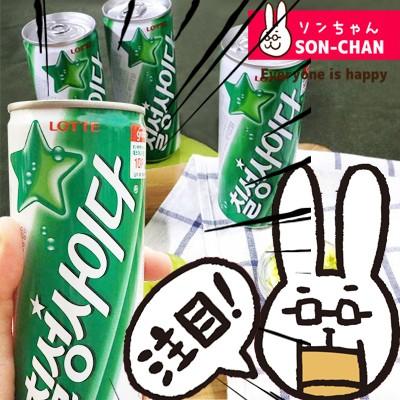 ロッテ 七星 サイダー 240ml x 30缶 韓国 食品 料...