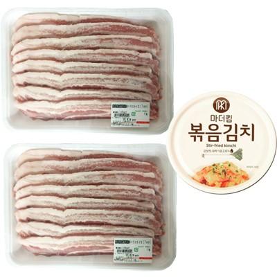 【冷凍便】豚バラ肉「サムギョプサル」スライス ...