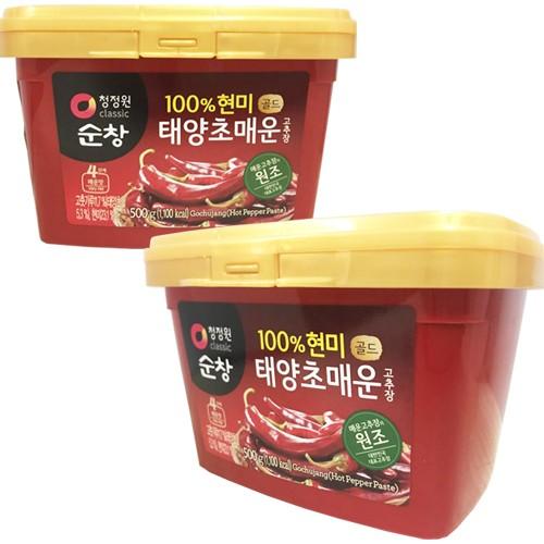 スンチャン (辛口) 玄米 コチュジャン 500gx2...