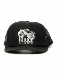 Rhude メンズ帽子 Rhude Malibu Derby Trucker Ca...