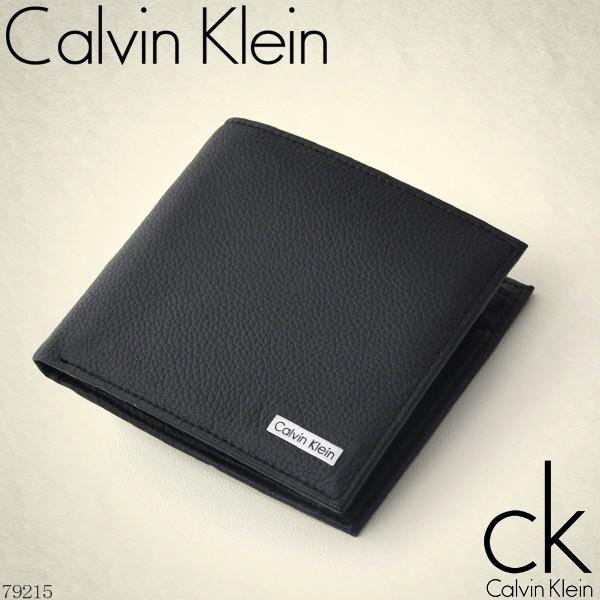 二つ折り財布 メンズ Calvin Klein カルバン クラ...