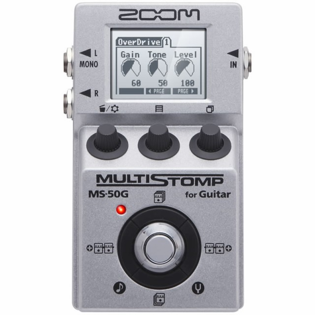 ZOOM MS-50G ver.3.0 [for Guitar]  【ikbp5】 【...