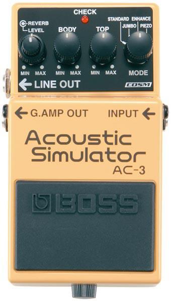 BOSS AC-3 [Acoustic Simulator] 【HxIv15_04】 ...