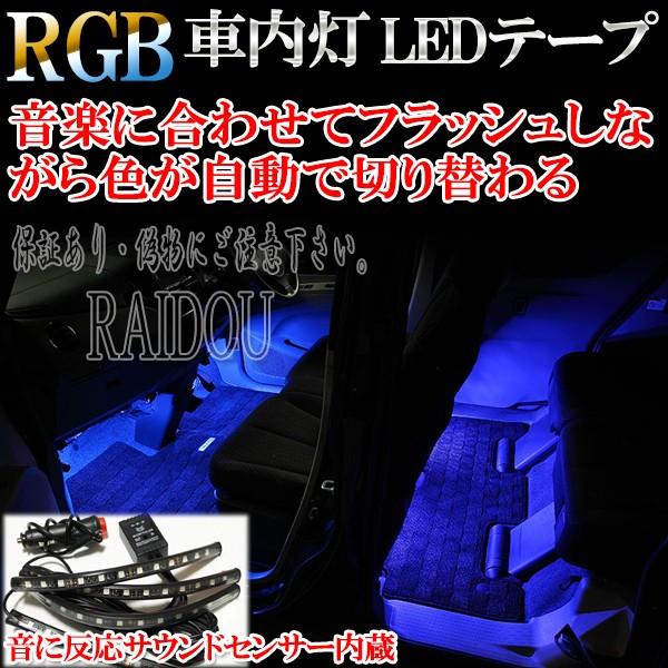 エブリィワゴン DA17W 車内灯 RGB ルームランプ