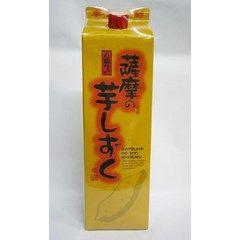 薩摩の芋しずく 白麹仕込 25度パック 1800ml...