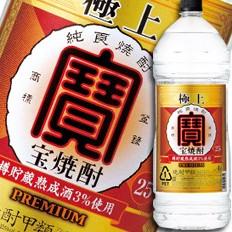 【送料無料】京都・宝酒造 極上(宝焼酎)25度エ...
