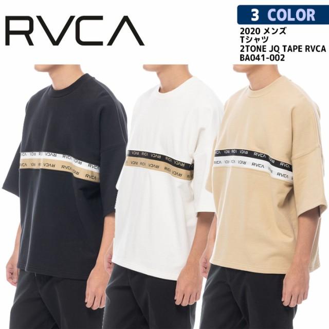 20 RVCA ルーカ Tシャツ 2TONE JQ TAPE RVCA トレ...