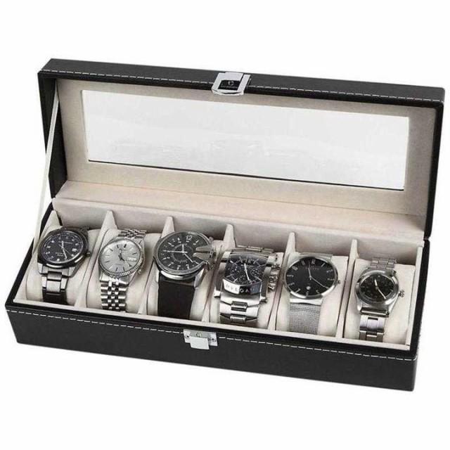 【腕時計6本ケース】 腕時計収納ケース 収納ボッ...