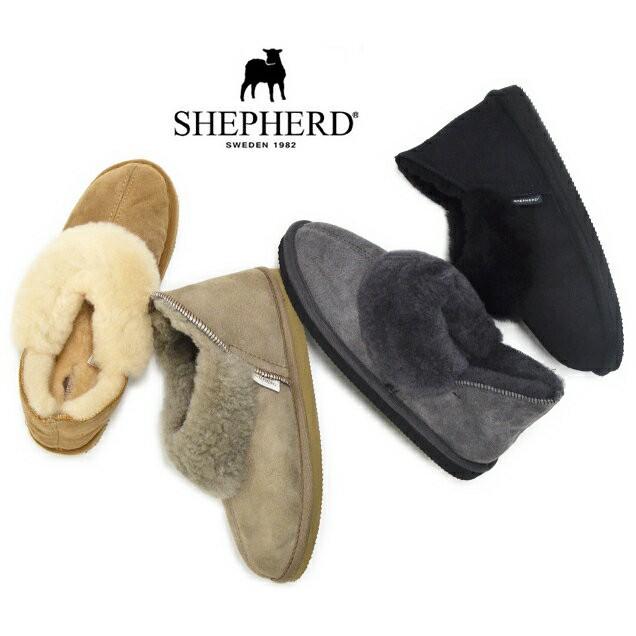 SHEPHERD シェパード シープスキン ムートン ブー...