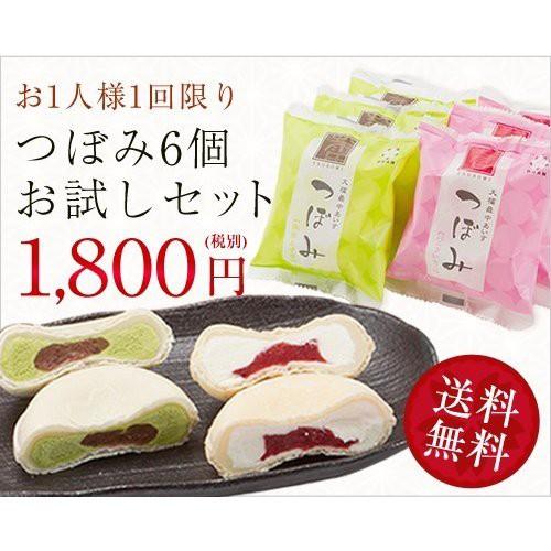 つぼみ(モナカアイスクリーム6個お試しセット)