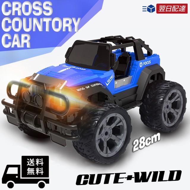 ラジコンカー 子供 2WD ライト オフロード RCカー...