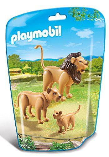 PLAYMOBIL (プレイモービル) Lion Family Buildin...