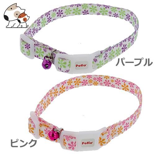 【メール便】ペティオ CAT COLLAR フラワーカラー...