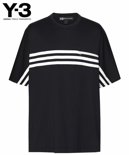 Y-3 ワイスリー メンズ Tシャツ M 3 STP PACKABLE...