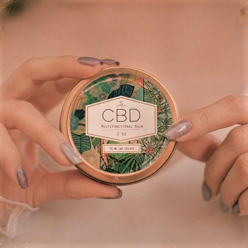 CBD バーム Shea Brand  1缶 CBD含有量 50mg シア...