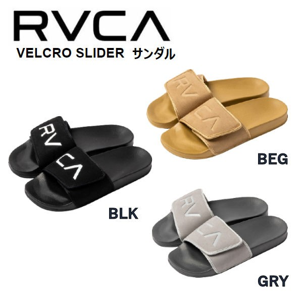 【RVCA】ルーカ 2021春夏 RVCA メンズ VELCRO SLI...