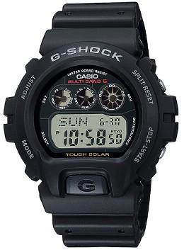 【送料無料】CASIO・カシオ 国内正規品 G-SHOCK 電波ソーラーGショック 腕時計 GW-6900-1JF【ラッピング無料】耐衝撃構造