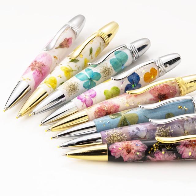 本物の押し花を使ったボールペン Frower Pen/フラ...