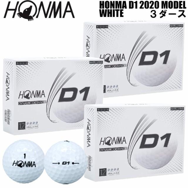 ホンマゴルフ HONMA D1 ゴルフボール 3ダース 36...