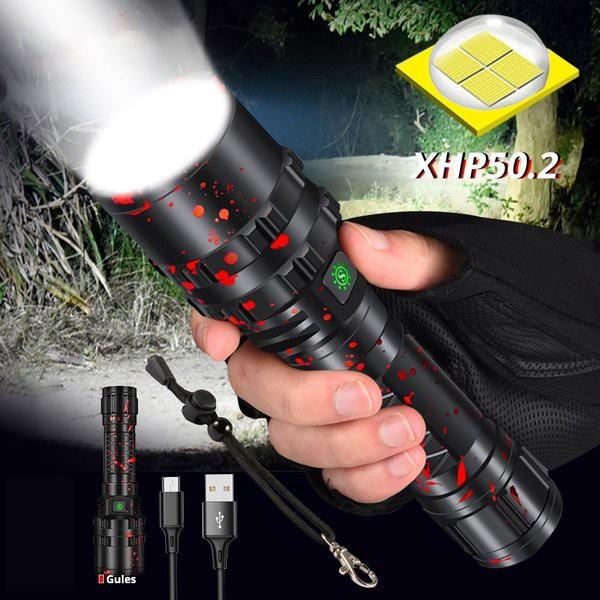 ハンディライト 懐中電灯  XHP50.2  防水 LED プ...