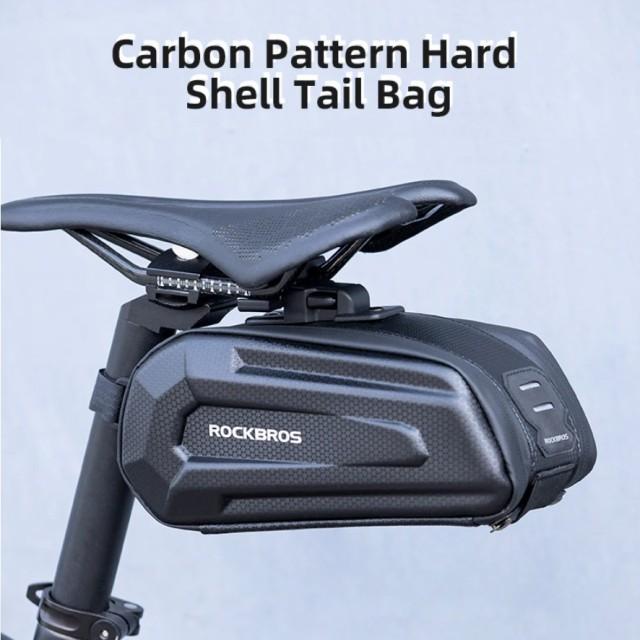 送料無料 自転車用テールバッグ 1.7L サイクリン...