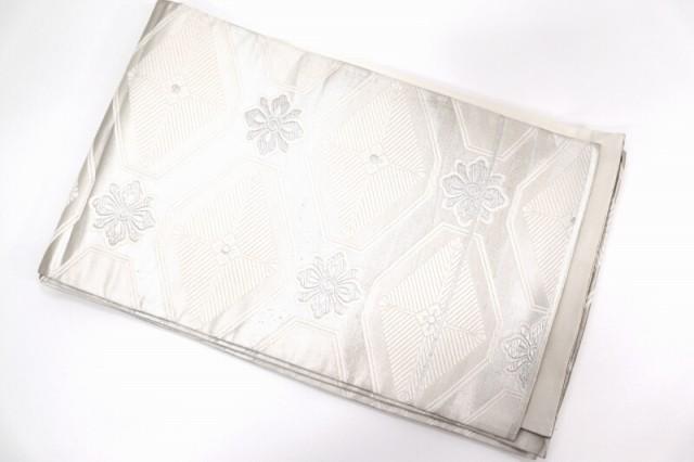 【中古】 6/4号 袋帯 正絹(シルク) リメイク用 は...