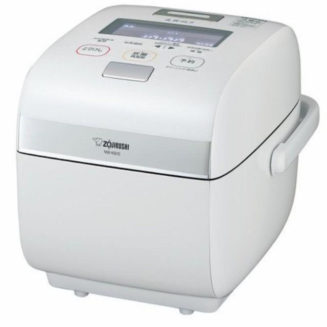 象印圧力IH炊飯器/5.5合炊き/NW-KB10-WZ/4月20日以降順次発送