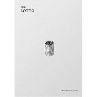 【メール便送料無料】EXO/ LOTTO -3集 リパッケー...