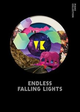 V.K克/ 光 無盡墜落的美麗 鋼琴譜集(楽譜+伴奏CD...