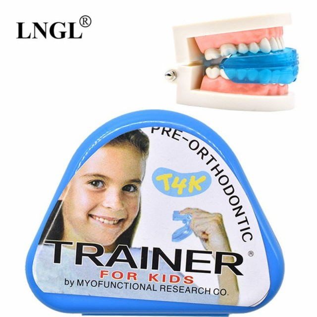 1 pc T4K 子供 歯科 歯列矯正器具 トレーナー 子...
