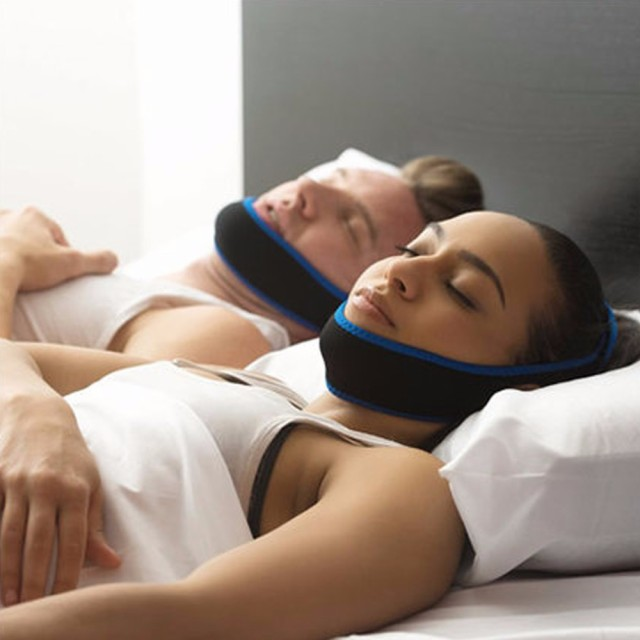 いびき防止ベルト いびき防止グッズ 鼻呼吸促進 サポートベルト 快眠サポーター  顎固定 口空きを防止  男女兼用