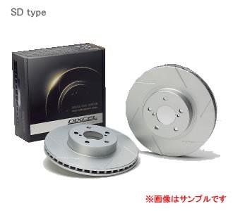 DIXCEL ディクセル ブレーキローター SD フロント...