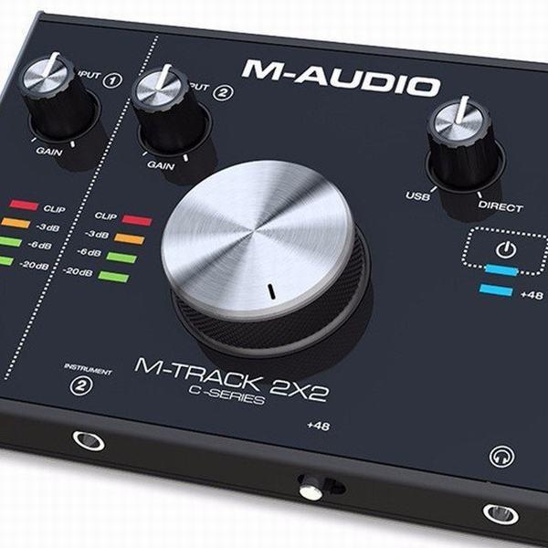 M-Audio 24bit/192kHz USBオーディオインターフェ...