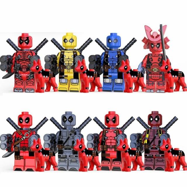 レゴ レゴブロック LEGO レゴミニフイグ デッドプ...