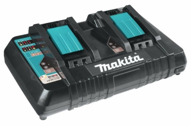 マキタ 2口急速充電器 DC18RD JPADC18RD 充電完了...