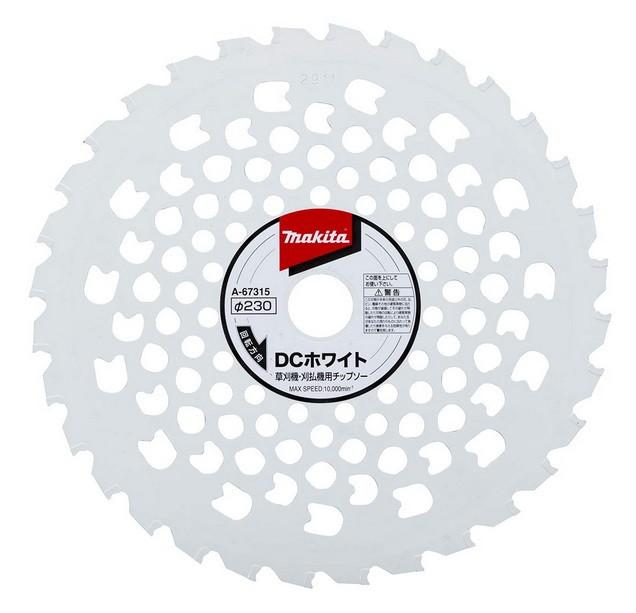 マキタ DCホワイトチップソー A-67315 φ230 刃数...
